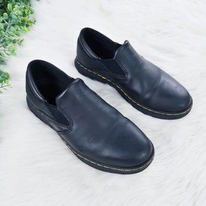 Doc Marten's Brockley Slip Resistant Leather Shoes
